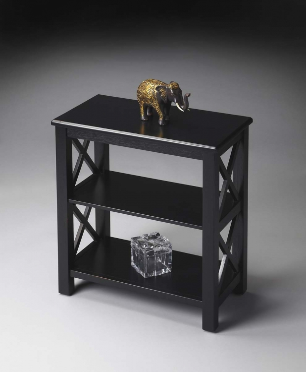 4105111 Bookcase - Black Licorice