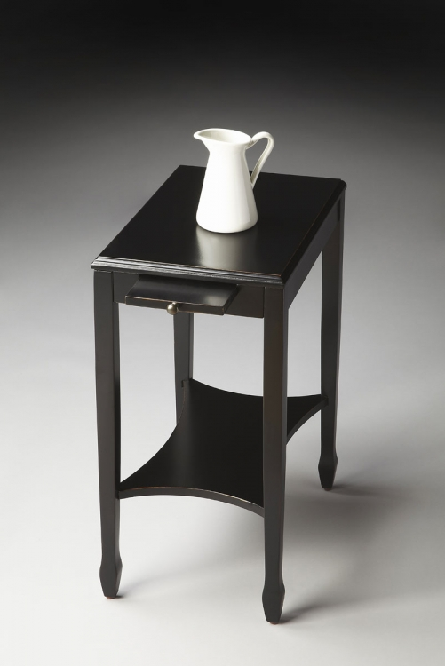 4107111 Side Table - Black Licorice