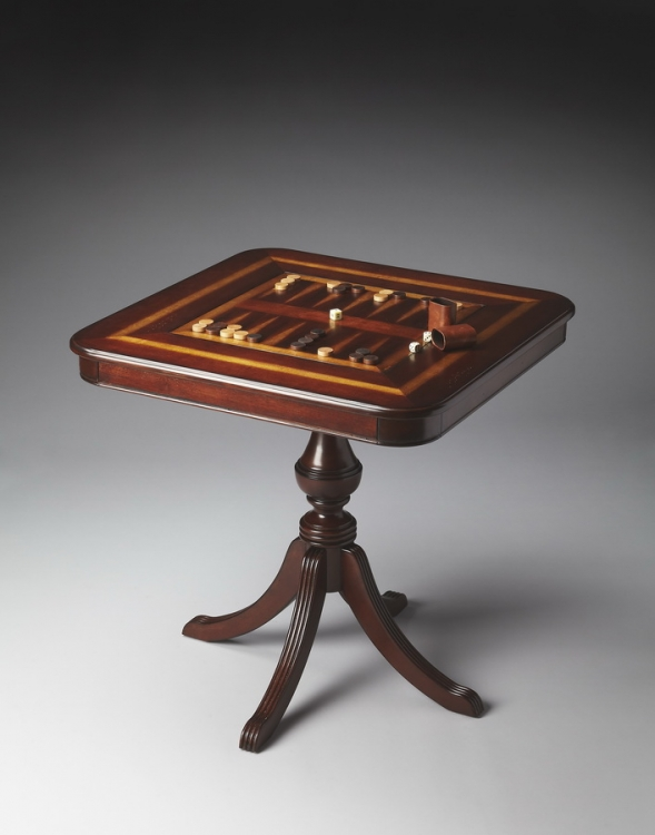4112024 Plantation Cherry Game Table - Butler