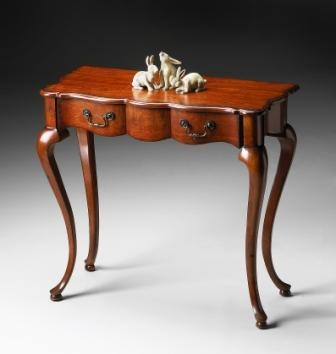 5012102 Old World Cherry Console Table - Butler