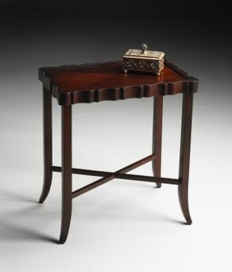 5016024 Plantation Cherry Tea Table - Butler