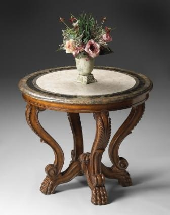 5026070 Heritage Foyer Table - Butler