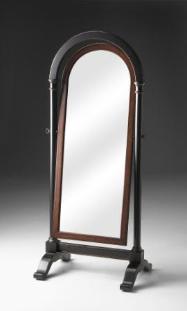 5029104 Cafe Noir Cheval Mirror - Butler