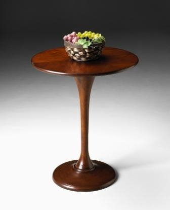 5031011 Antique Cherry Accent Table - Butler