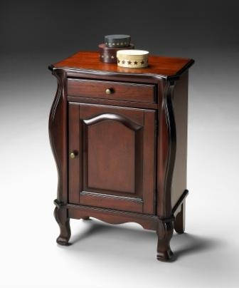 5033024 Plantation Cherry Chairside Chest - Butler