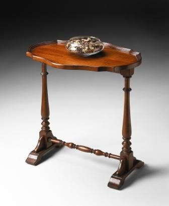 5046011 Antique Cherry Accent Table - Butler