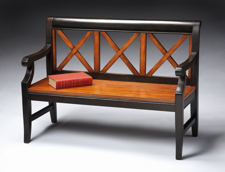 5048109 Transitional Cherry Bench