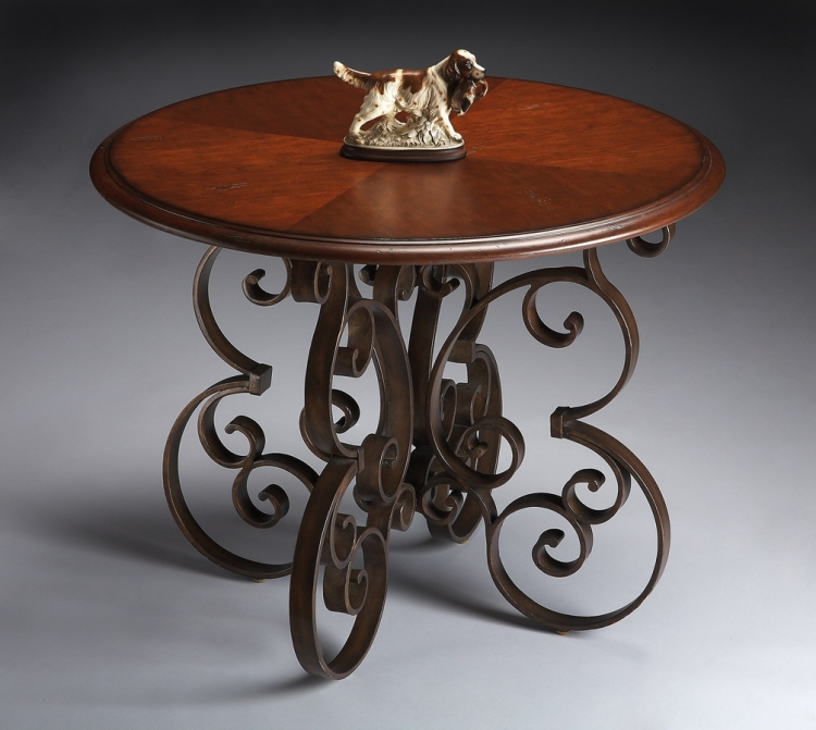 6007025 Metalworks Foyer Table - Butler