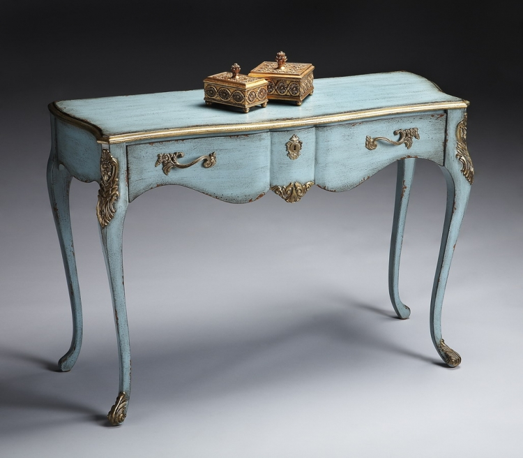 6035208 French Blue Console Table - Butler