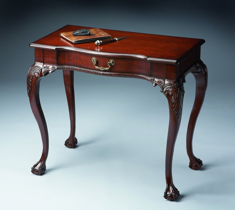 6042024 Plantation Cherry Writing Desk - Butler