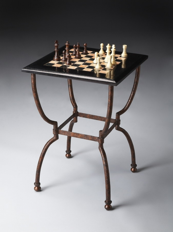 6061025 Metalworks Game Table - Butler