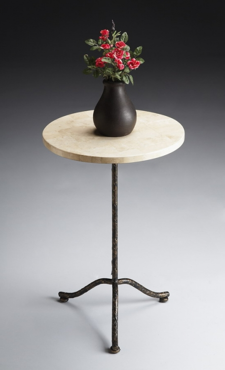 6068025 Metalworks Pedestal Table