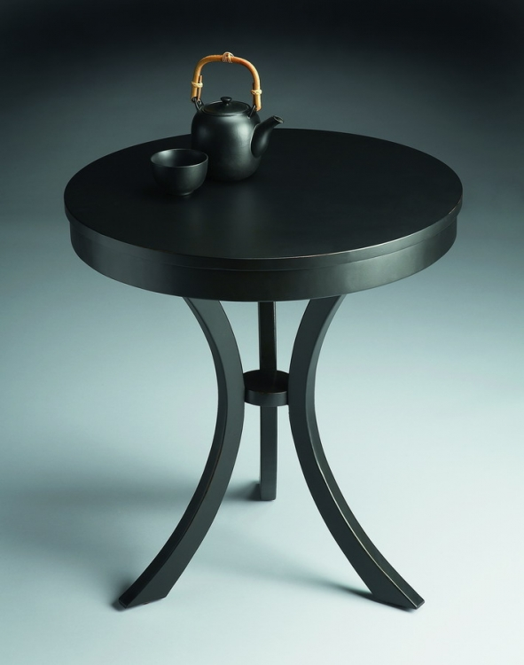 7007111 Black Licorice Side Table