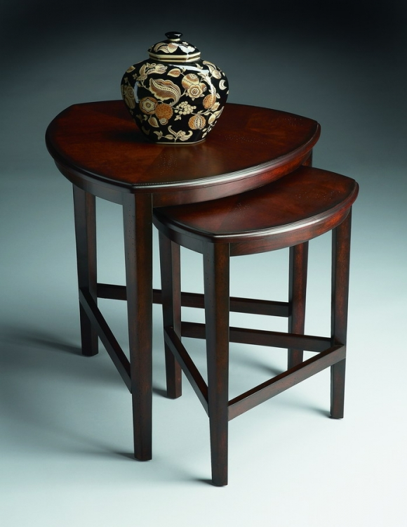 7010117 Chocolate Nesting Tables