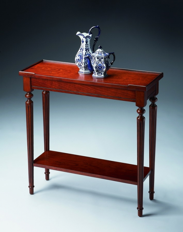 7036024 Plantation Cherry Console Table - Butler