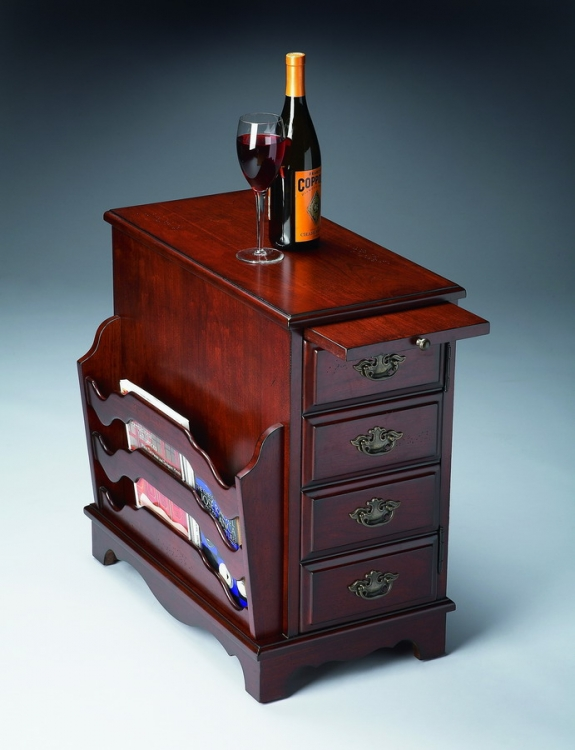 7038024 Plantation Cherry Magazine Table - Butler