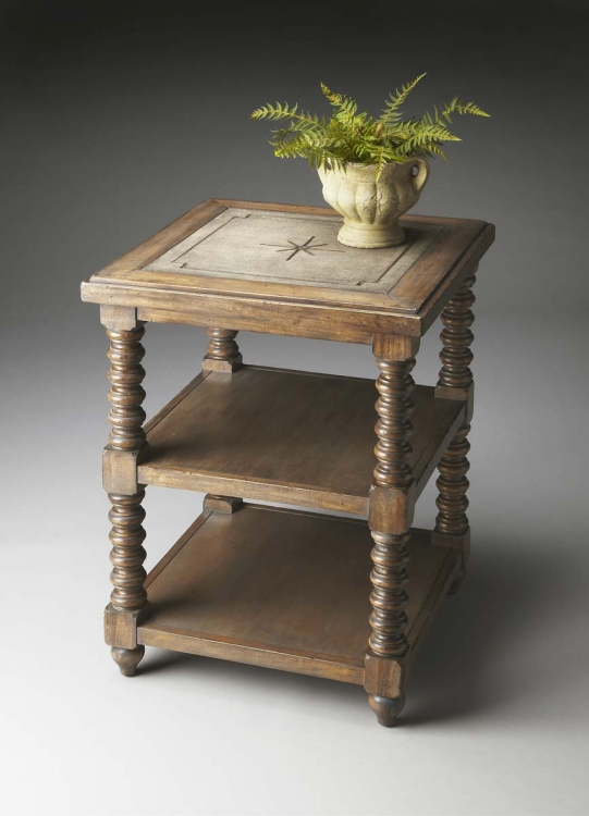7048120 Accent Table - Mountain Lodge - Butler
