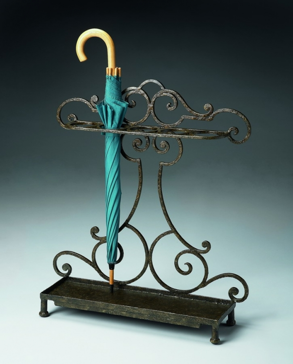 7074025 Metalworks Umbrella Stand - Butler