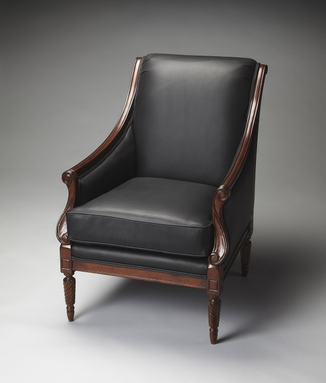 9504234 Accent Chair - Plantation Cherry - Butler