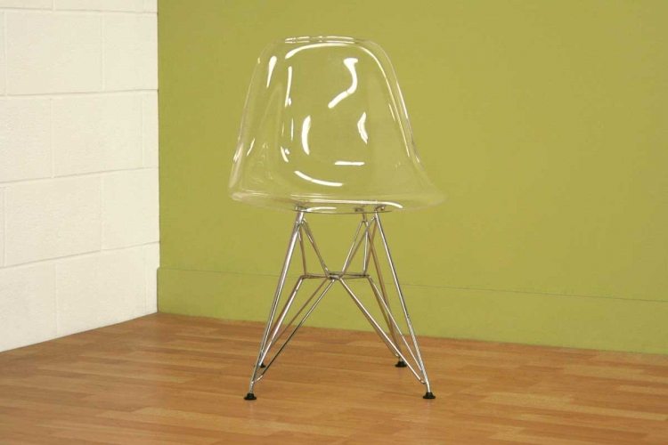Lexy Clear Accent Chair - Wholesale Interiors