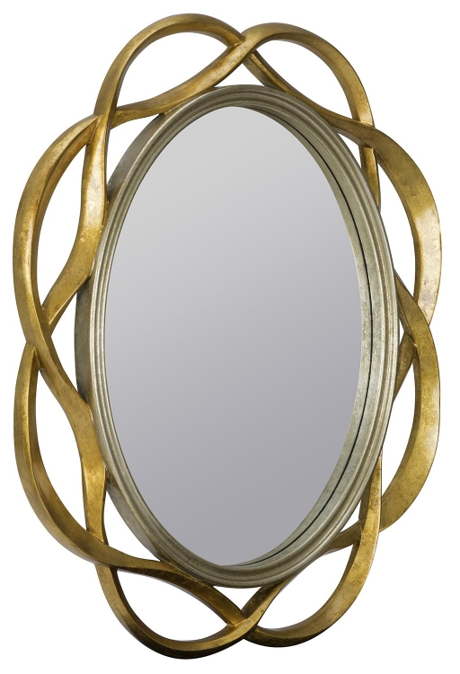 Wentworth Mirror - Gold