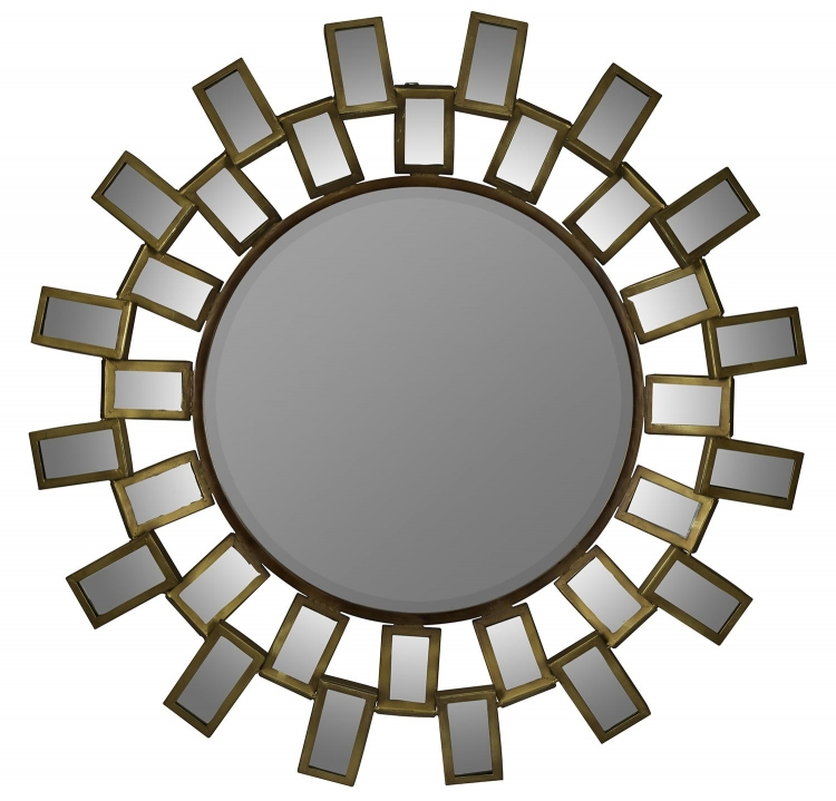 Bouvier Mirror - Antique Gold