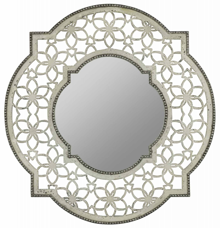 Clarkson Mirror - Antique White