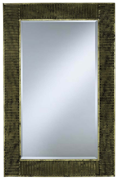 Peter Mirror - Antique Gold