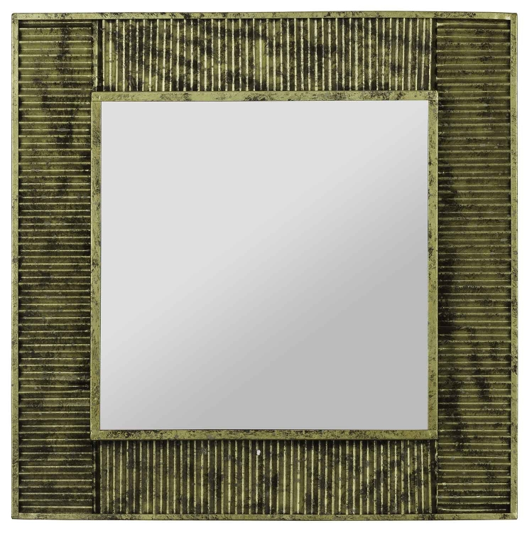 Malden Mirror - Antique Gold