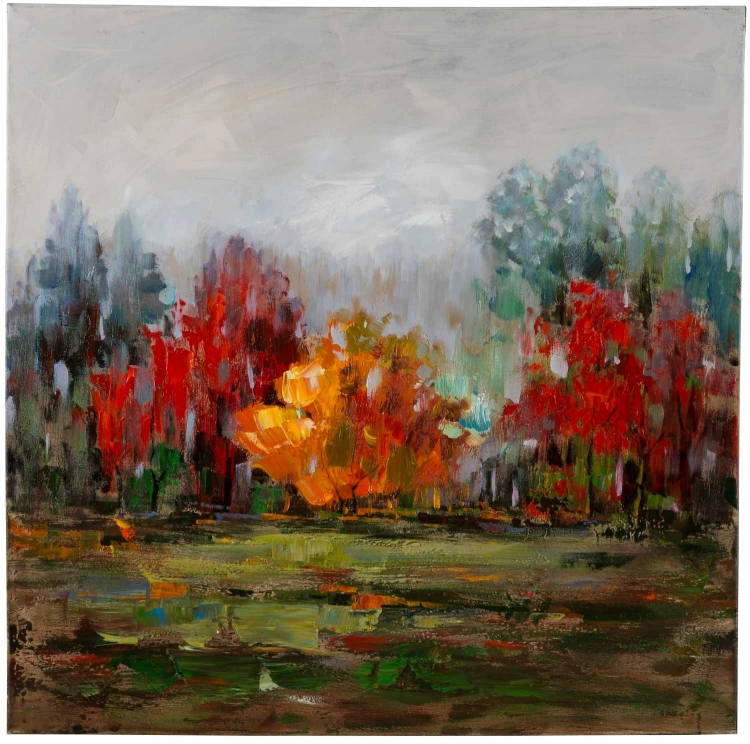 Fall Forest I Canvas Painting