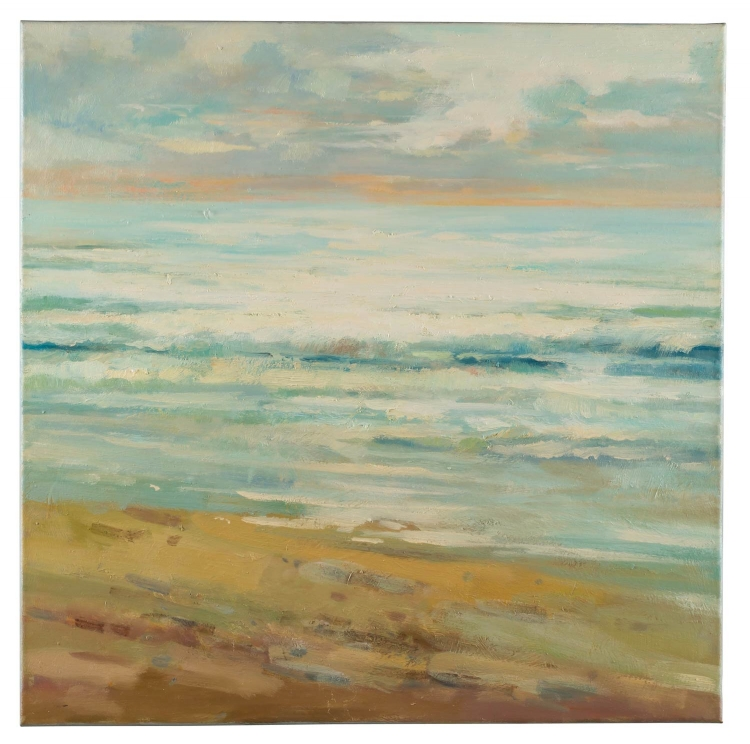40820 Beach Escape Canvas Painting