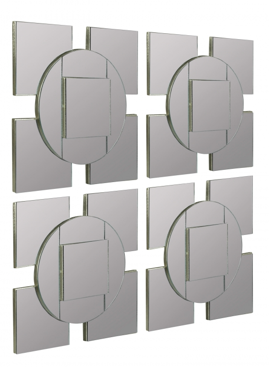 Tupan Mirror - Set of 4