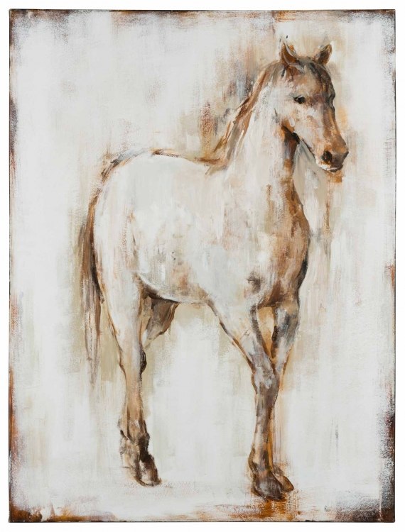 40865 Horse I Canvas Painting