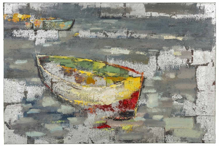 40881 Boat II Canvas Painting