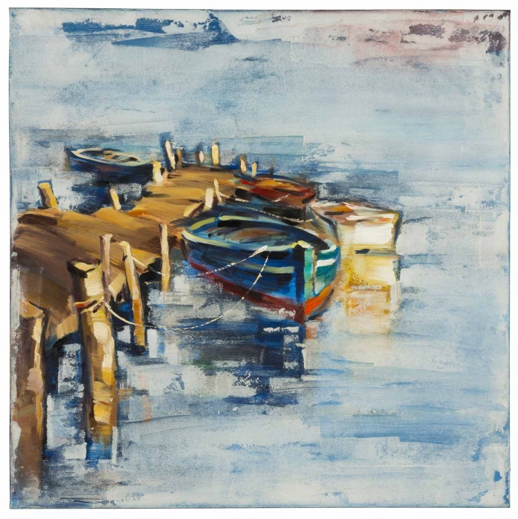 40882 Boat I Canvas Painting