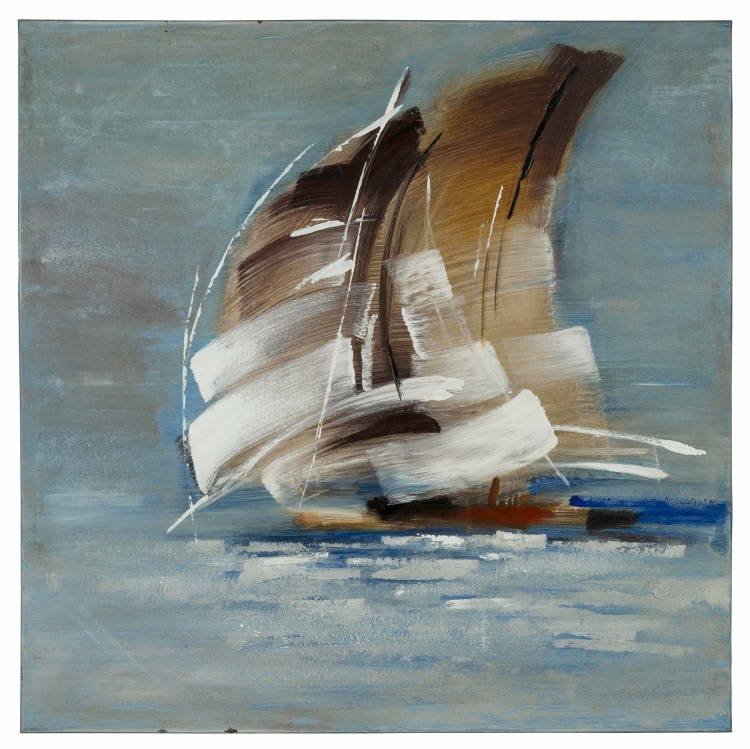 Sail Boat I Canvas Painting