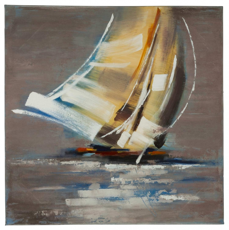 Sail Boat II Canvas Painting