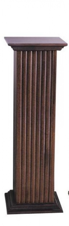 Square Fluted Pedestal - Medium-Cooper Classics