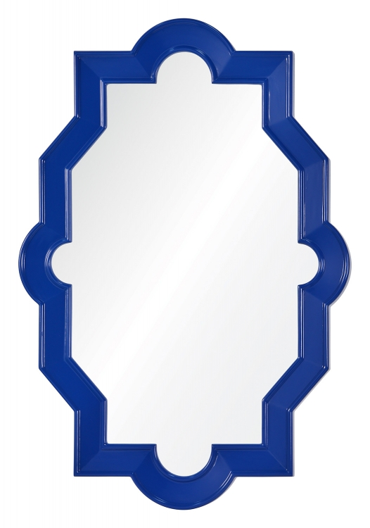 Trish Mirror - Lacquered Cobalt