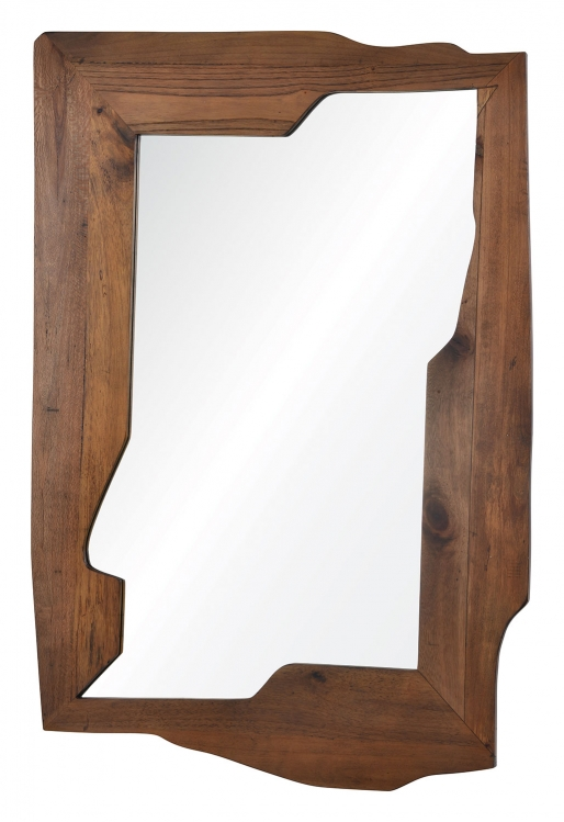 Gunderson Mirror - Natural Wood