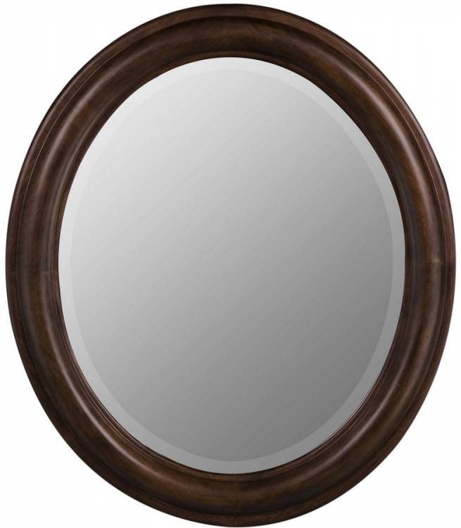Addision Oval Mirror - Tobacco