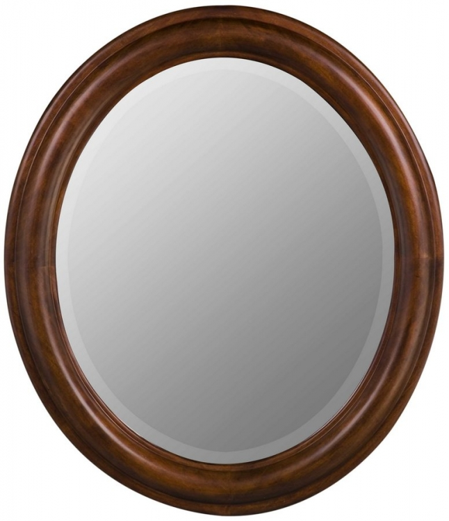 Addision Oval Mirror - Vineyard