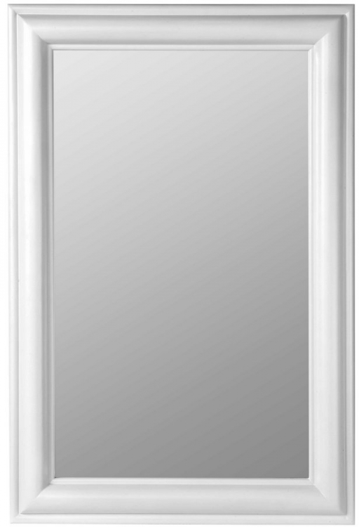 Julia Rectangle Mirror - White-Cooper Classics