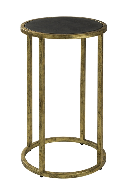 Glendale Side Table - Antique Gold