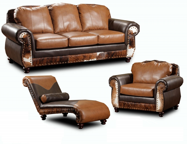 Denver Sofa Set - Tempe Chestnut