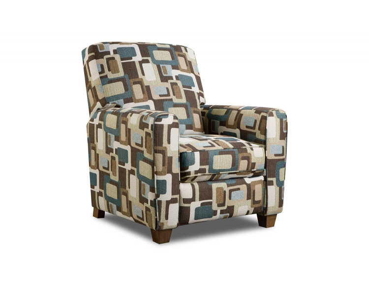 Barras Recliner Chair - Fusion Teal