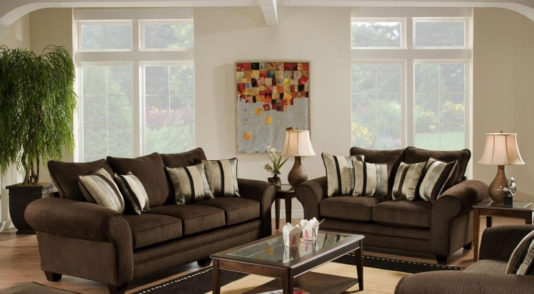 Clearlake Sofa Set - Waverly Godiva