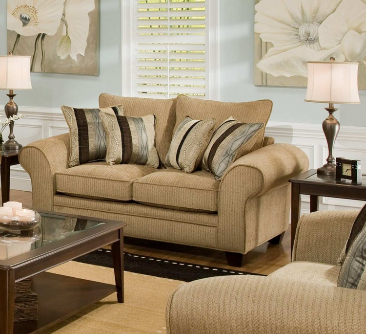 Clearlake Loveseat - Waverly Suede