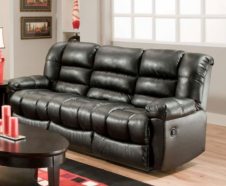 Orleans Power Reclining Sofa - New Era Black