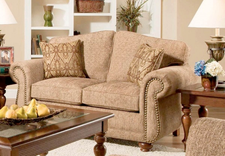 Carmella Loveseat - Forever Young Camel